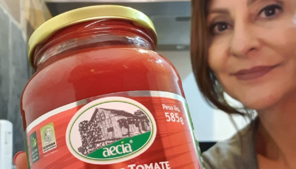 Molho de tomate Aecia